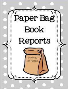 Book report template grade